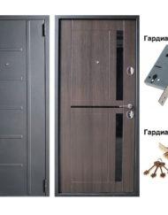 Дверь VD-42 (лакобель венге) (70мм)