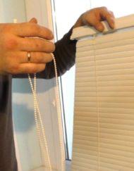 Горизонтальные алюминиевые жалюзи на окна